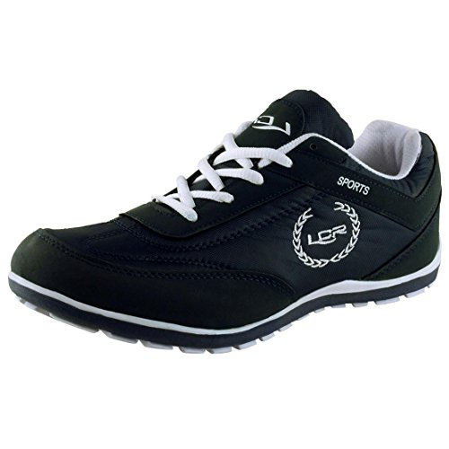 Buy Lancer Men's Black Running Shoes-10