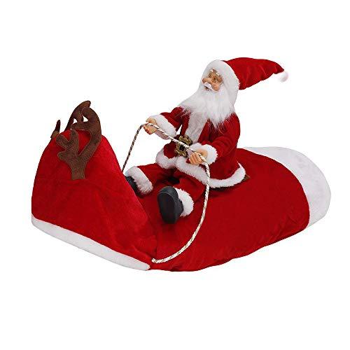 Nonebrand Huisdier Hond Kerst Kleding Kerstmis Oude Man Rijden Herten Kostuum Hond Veranderen Rafter Kerstmis