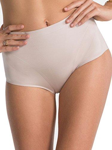 Spanx FS0115SOFTNUDE_L Slip Modellanti, Beige (Soft Nude 0), Large Donna