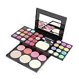 Marca profesional Maquillaje Paleta Set Cosméticos Sombra de Ojos Brillo de Labios Fundación Polvo Colorete Puff Herramienta Kit de Maquillaje