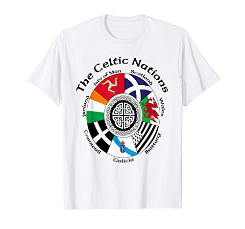 The Celtic Nations T-Shirt