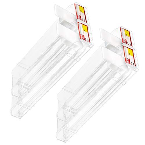UKCOCO Expositor de Cigarrillos de Plástico Caja de Cigarrillos Automática Caja de Cigarrillos Transparente Estante de Empujadores para Tiendas Supermercados Venta Al por Menor 2