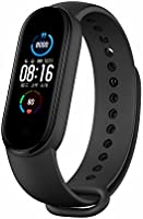 Xiaomi Mi Band 5 Smart Wristband with Magnetic Charging 11 Sports Modes Remote Camera Bluetooth 5.0 Global Version - Black