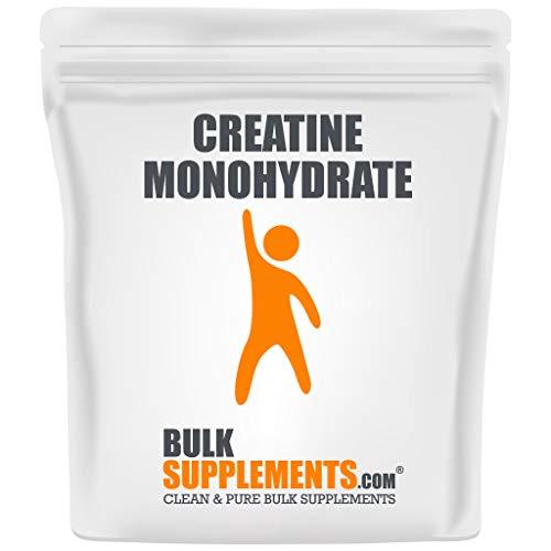 BulkSupplements Pure Micronized Creatine Monohydrate Powder