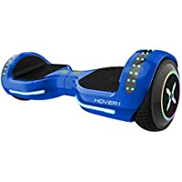 Hover-1 Origin Hoverboard Electric Scooter with Bluetooth Speakers, Color Changing Fender and LED Lights