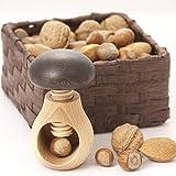 Neustanlo Cascanueces en forma de seta con rosca de madera de haya (3 unidades)