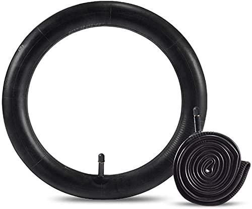 KUNYI 2 Neumático de Carretera de Bicicleta Duradero Neumático del vehículo 16/18/20/22/24 / 26x1.75/1.95/2.125 para el Tubo de válvula de neumático de Bicicleta de Goma (Size : F)