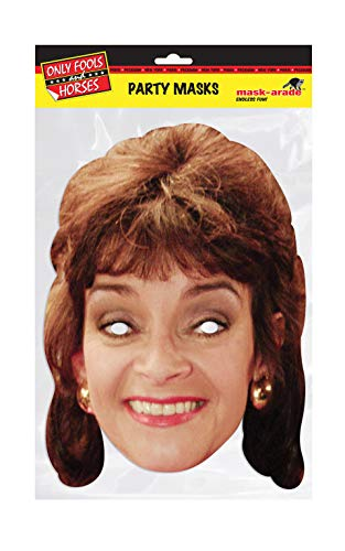 Marlene Only Fools and Horses Character Face Card Mask