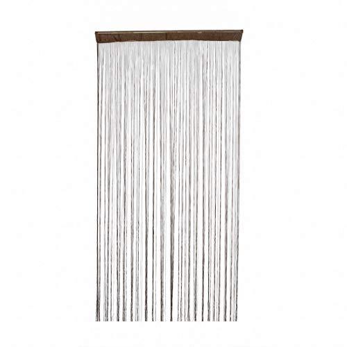 Rideau//Bandes Rideau conacord gris blanc longueur 200 cm