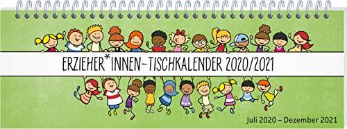 ErzieherInnen-Tischkalender 2020 / 2021: Juli 2020 - Dezember 2021 (Kalender für Kindergarten und Kita)