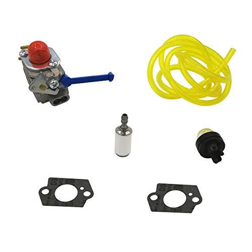 Kit de filtre à carburant pour carburateur HUSQVARNA 124 L, 125 L LD, 128 C CD L LD LDX, 128 R RJ DJX Trimmer Zama C1Q-W40A
