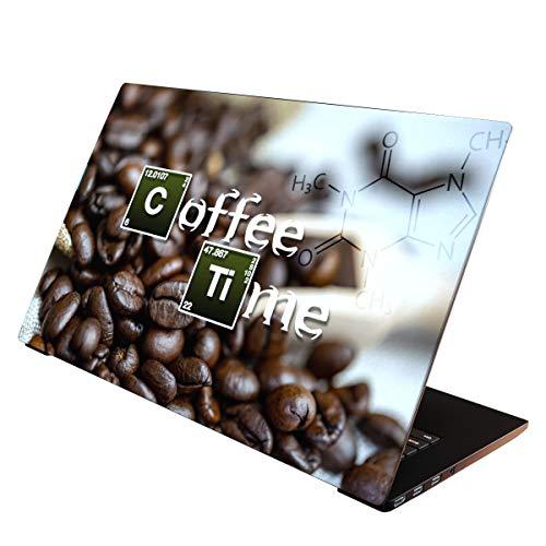 OneWheel / Folie Sticker Aufkleber Skin Schutzfolie für Notebook Laptop (Coffee, 15-17 Zoll)