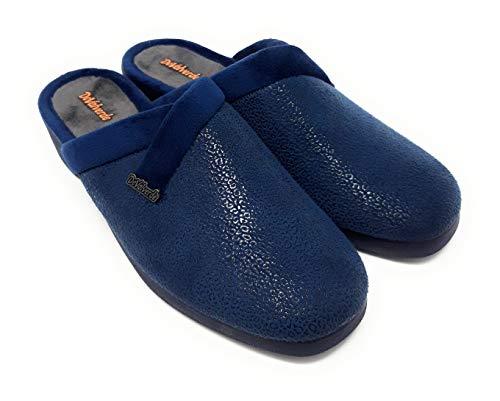 Zapatillas CASA DEVALVERDE 213 Marino.Zapatillas para Mujer Muy comdas y Confortables. (Marino, Numeric_40)
