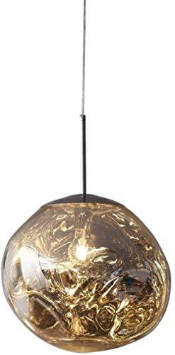 1 X E27 Lavaglas Kronleuchter Postmodernismus Schmelzglas Kronleuchter Schmelzglas Kronleuchter Unregelmäßiges Design Kronleuchter Silber Für Wohnzimmer, Kronleuchter Einfach Zu Installieren