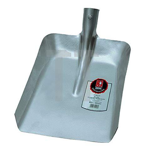 Ideal 56190920 Randschaufel Größe 9 aus Leichtmetall, Silber, 38x47x10,5 cm
