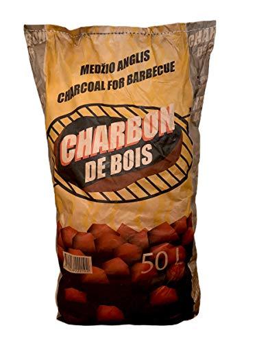 Medzio Anglis Charbon de Bois Qualité Restaurant 50 L