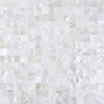 Best white mosaic backsplash Reviews
