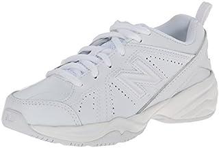 New Balance KX624 Lace-Up Training Shoe (Little Kid/Big Kid)White6 W US Big Kid [並行輸入品]