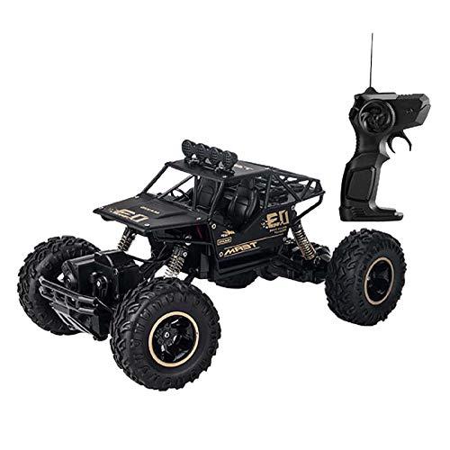 SM SunniMix Juguete Teledirigido Automático del Vehículo Teledirigido del Camión de La Escala del 1:16, Regalo para Los Niños - Negro