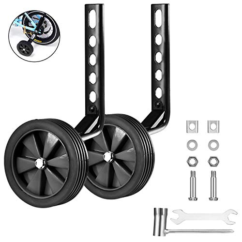 """Children Bicycle Training Wheels Rear Stabilizers Mounted Kit for 12-20/"""" Bike US"""