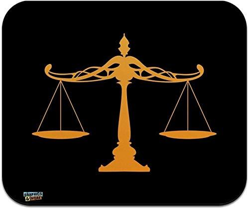 Waage der Justiz Rechtsanwalt Low Profil Thin Mouse Pad Mousepad
