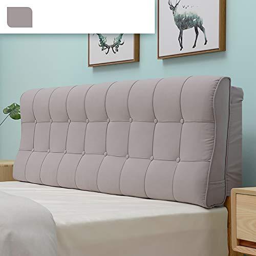 TCYLZ Hoofdborden voor queensize bedden, leeskussen, bed wig rugleuning kussen, voor bed rugsteun, linnen stof, wasbaar