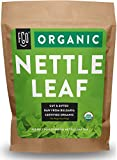 Organic Nettle Leaf | Herbal Tea (200+ Cups) | Cut & Sifted | 16oz Resealable Kraft Bag | 100% Raw From...