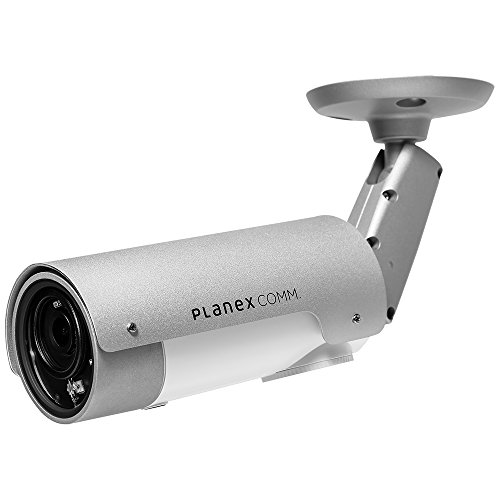PLANEX ネットワークカメラ カメラ一発! アウトドア フルHD 防水防塵対応・暗視機能・マイク内蔵・有線LAN専用 CS-W80FHD