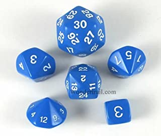 Koplow Games Blue Special Who Knew 6 Dice Set