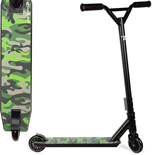 Land-Surfer Stunt Scooter Camouflage Green