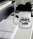 N\A Regalo de armero Taza de armero Taza de café de armero Sí, Soy un armero, Pero no Puedo Arreglar lo estúpido