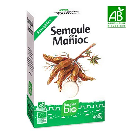 Racine Bio - Semoule de Manioc sans gluten (ATTIÉKÉ)