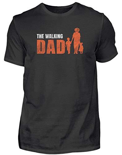 Camiseta para hombre de Halloween Dad, con frases divertidas, eslogan de terror, calabaza, bruja, monstruo, terror, fantasma, zombi, fiesta, idea de regalo, hombre Negro M