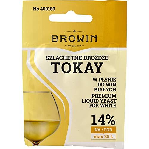 Liquid Wine Yeast - Tokay (Tokaj) 20 ml | BROWIN | Drożdże do wina | Drożdże hodowlane | Drożdże do produkcji wina