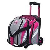 Strikeforce Cruiser Single Ball Roller Bowling Bag Stone/Pink