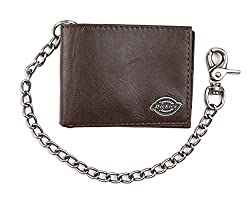 top rated Dickies Men's Double Chain Wallet – High Security with ID Window and Credit Card Pocket 2021