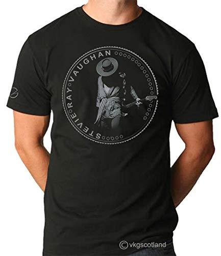 DCEGasc Stevie Ray Vaughan SRV T-Shirt with Short Sleeve for Men Men