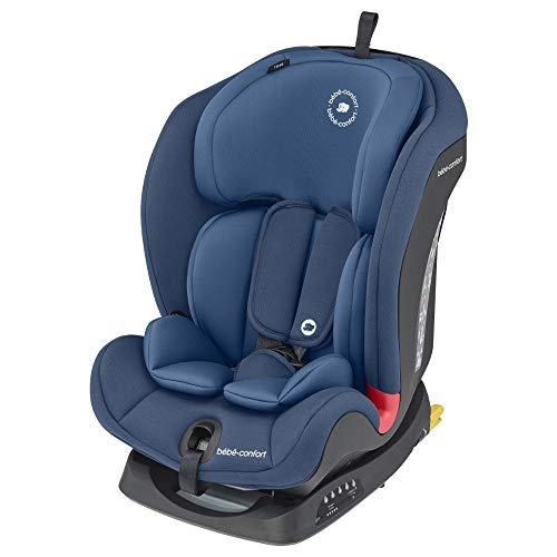 Bébé Confort Titan Siège auto pour enfant groupe 1 2 3, ISOFIX , Evolutif et inclinable, de 9 mois à 12 ans (9 à 36kg), Basic Blue (Bleu)