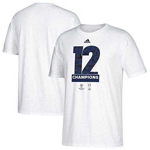Adidas Real Madrid 2017UEFA Champions League Champs Blanco Camiseta