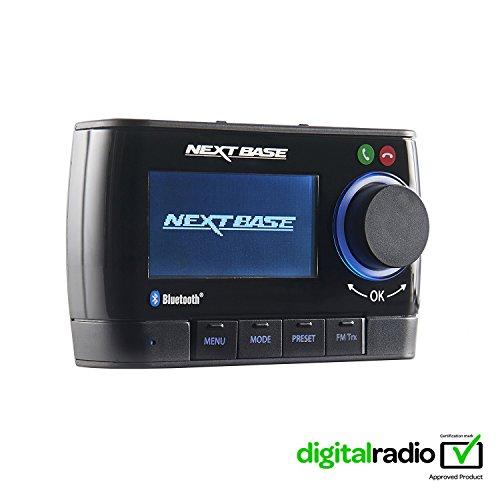 Nextbase Adapt DAB350BT – DAB Plus Adapter für Digital-Radio mit Bluetooth Freisprecheinrichtung & Musik-Streaming – DAB+ Auto-Radio Empfänger mit integriertem FM Transmitter – mit Zubehör