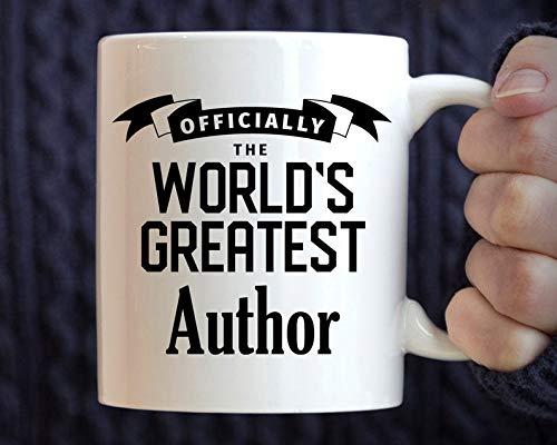 Author Gift Best Author Mug Gift for Author World's Greatest Author Coffee Mug