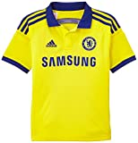 adidas Jungen Trikot Chelsea FC Replica Spieler-Auswärts, Bright Yellow/Chelsea Blue, 176, M37748