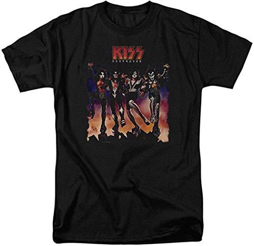 LaMAGLIERIA T-Shirt Kids Kiss Kss04 Maglietta Bambino Rock Metal Band 100/% Cotone