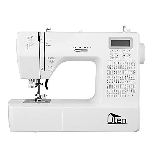 Sewing Machine, 200 Built-in Stitches and 8 Buttonhole Patterns, Portable Sewing...