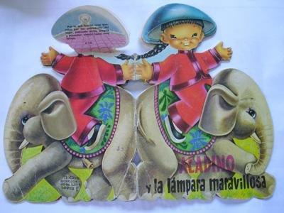 Cuento Troquelado : ALADINO Y LA LÁMPARA MARAVILLOSA