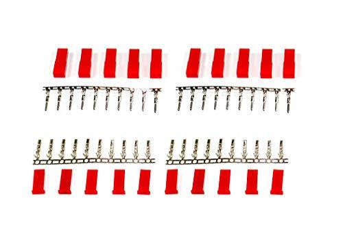 marfitec © 10 Paar JST / BEC kompatibel Stecker + Buchse zum crimpen (20 Stück)