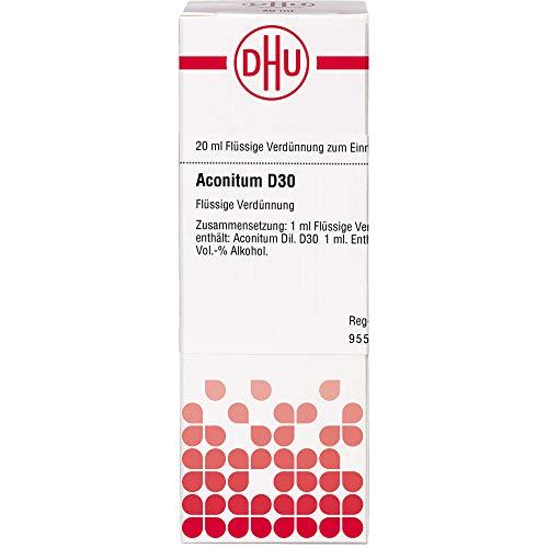 DHU Aconitum D30 Dilution, 20 ml Lösung
