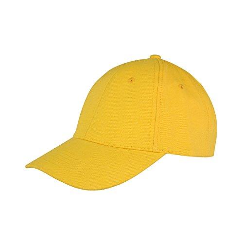 Result Unisex Core Memphis Baseballkappe (Einheitsgröße) (Gelb)