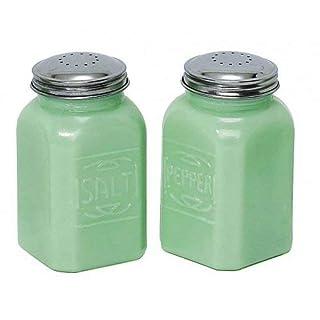 Jade Jadeite Green 2 Pc Salt Pepper Shaker SET Depression Glass Shakers (B00M4QEGGC) | Amazon price tracker / tracking, Amazon price history charts, Amazon price watches, Amazon price drop alerts