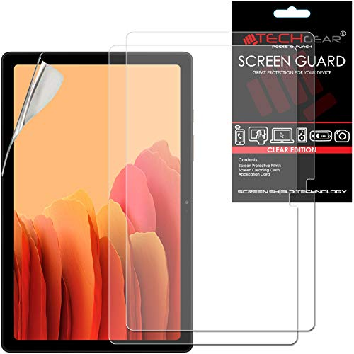TECHGEAR 2 Pack Galaxy Tab A7 10.4' Screen Protectors (SM-T500 / SM-T505), Ultra CLEAR Screen Protector Guard Cover Designed for Samsung Galaxy Tab A7 10.4' 2020